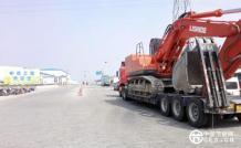 力士德节能挖掘机走进田湾核电站