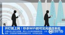 秒杀wifi:可见光通信未来前景分析