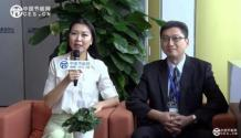 台聚集团聚森股份有限公司总经理陈布伦在展会现场接受采访
